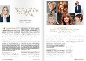 Schnitzler Magazin 01/15: Leidenschaftliche Botschafterin für schönes Haar